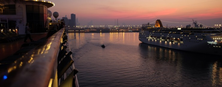 Embarcation in Abu Dhabi